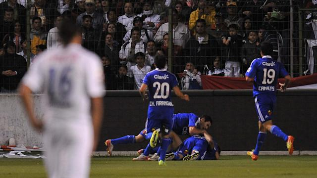 Copa Sudamericana Universidad de Chile 2011
