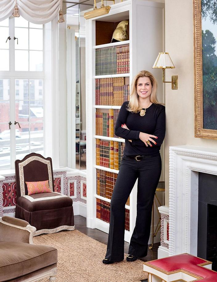 Alexa Hampton: The legendary Manhattan firm of Mark Hampton is recognized in the homes of Brooke Astor, Estée Lauder, three U.S. presidents, as well as H. John Heinz III. When Alexa Hampton took over from her father as owner and president, in 1998, she continued to craft the immaculately proportioned and elegant interiors that have gone on to define the brand. Along the way, she has added her own fresh take and modern spin, gently pushing her father's essence into the modern age.