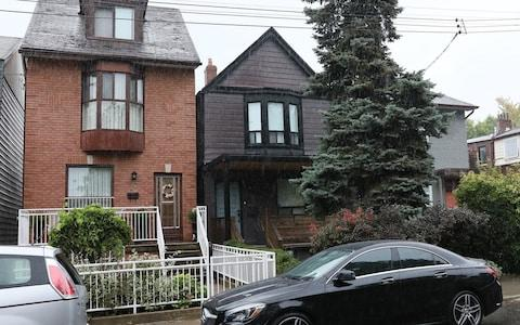 Meghan Markle's former home in Toronto - Credit: AKGS