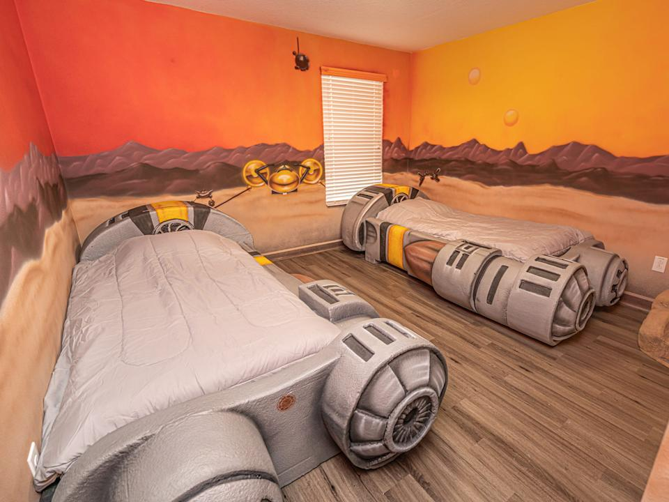 """The beds are fitted with some serious-looking jets. <p class=""""copyright"""">Loma Homes</p>"""