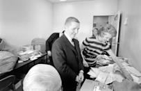 <p>With an influx in deliveries, offices set up mail rooms where employees would sort and distribute mail. This still exists today, but to a much smaller degree. </p>