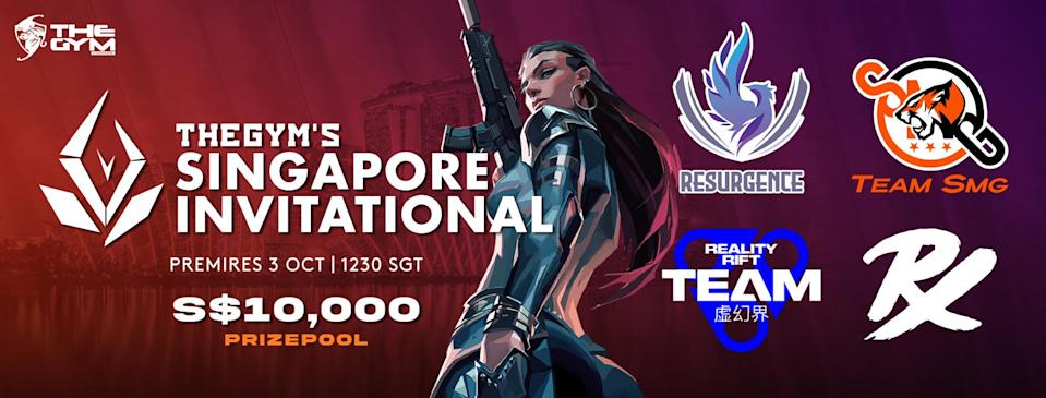 The Gym Singapore Valorant 5v5 Invitational (Singapore)