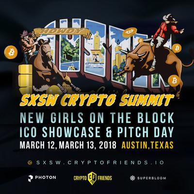 SXSW Crypto Summit coming to Texas, featuring women in Blockchain conference New Girls On The Block.