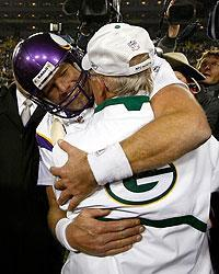 Favre still has great affection at least for one member of the Packers staff