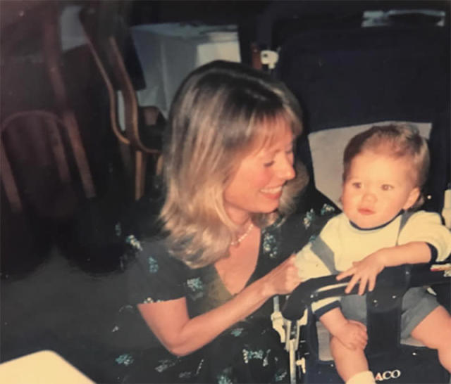 "<p>Here's proof that <em>The Fate of the Furious</em> actor was always very attractive. Clint's son shared this throwback with his mom, Jacelyn Reeves, from when he was a stroller-riding little nugget — and what a cutie he was. His message to mom was simple but sweet: ""Thanks for everything. Love you Mom."" (Photo: <a href=""https://www.instagram.com/p/BUF7zFchM_8/?taken-by=scotteastwood"" rel=""nofollow noopener"" target=""_blank"" data-ylk=""slk:Scott Eastwood via Instagram"" class=""link rapid-noclick-resp"">Scott Eastwood via Instagram</a>) </p>"