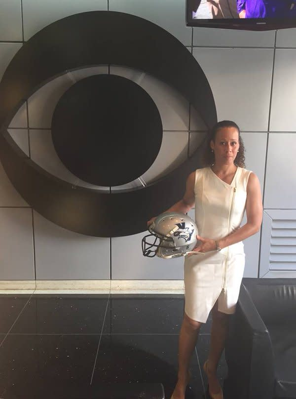 Collette Smith will be a coaching intern with the Jets this summer. (Twitter)