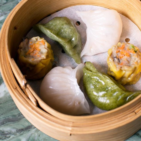 """<p>Sydney's newest high-end Chinese restaurant <a rel=""""nofollow"""" href=""""http://eastlondon.com.au/"""">East London</a> is one of the chicest places to scoff down puffy dumplings. We're obsessed with the mixed dumplings basket which comes with a steamed vegetable    offering, the classic prawn and what we're calling the most delicious chicken and corn dim sim in Sydney.</p>"""
