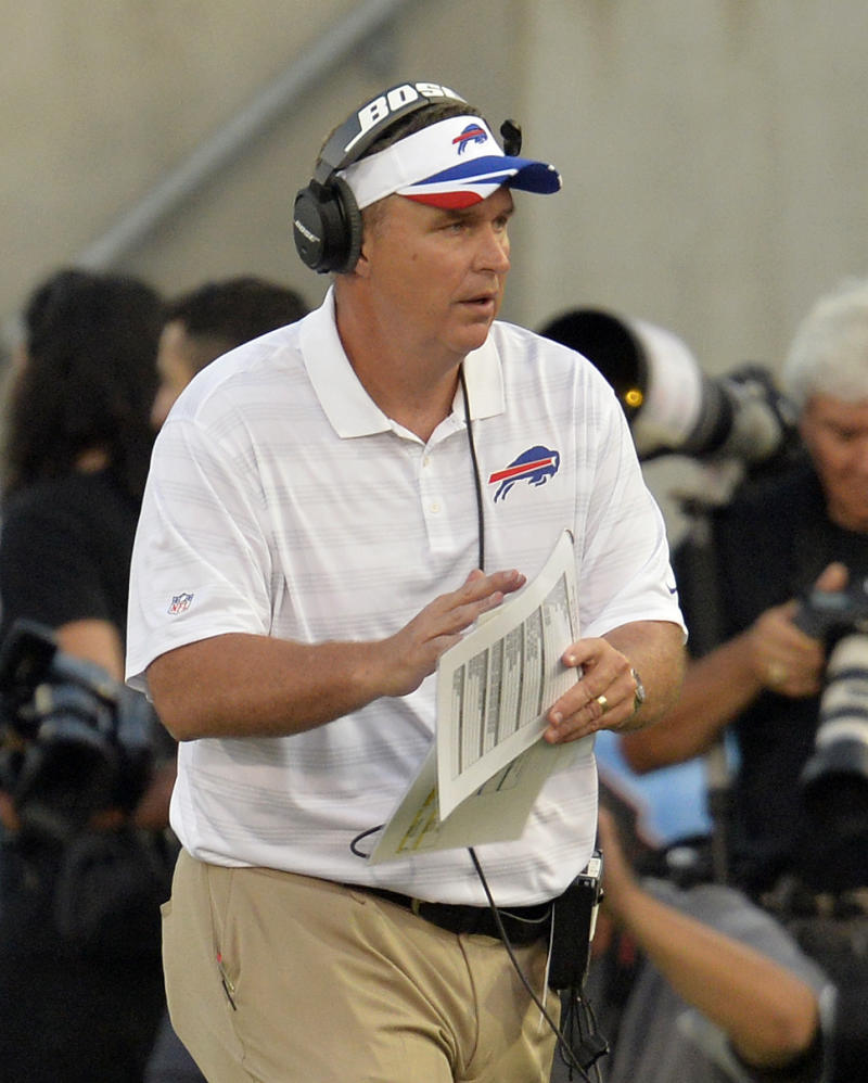 Bills coach Marrone impatient after preseason loss