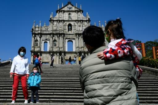 The usually teeming ruins of the 17th-century St Paul's church in Macau have been quiet this Lunar New Year