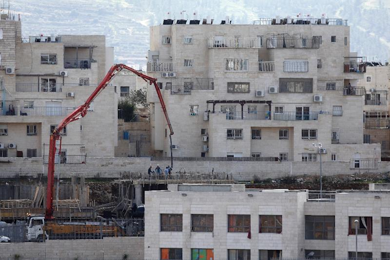 A view of the settlement of Beitar Illit in the occupied West Bank on February 14, 2018
