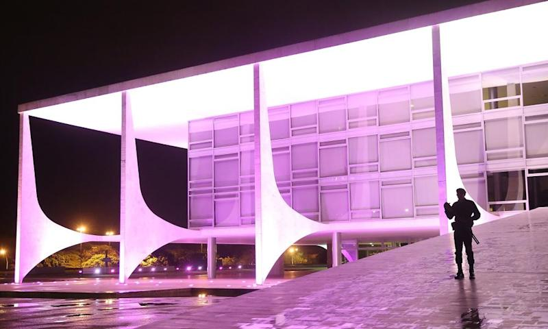 The Planalto presidential palace, a Unesco world heritage site.