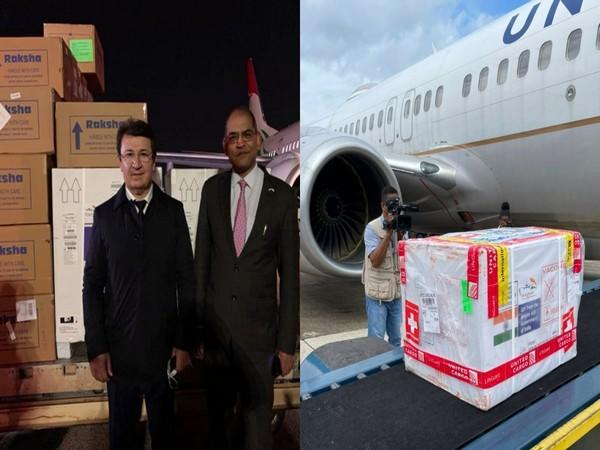 Made-in-India vaccines have reached Tajikistan and Belize. (Photo credit: Twitter/S Jaishankar)