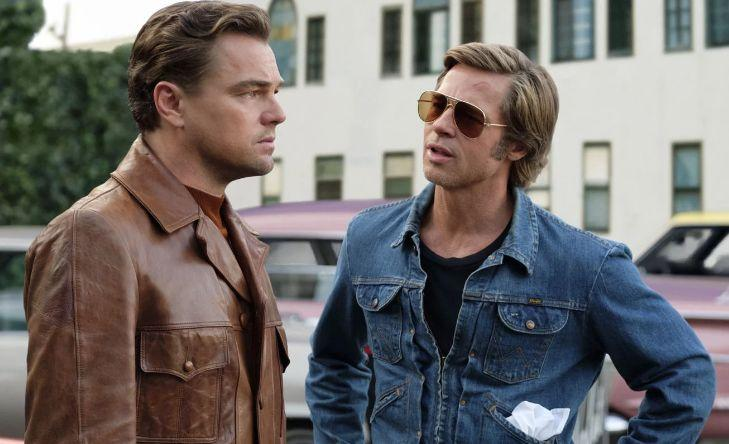 """Leonardo DiCaprio et Brad Pitt dans """"Once Upon a Time... in Hollywood"""" de Quentin Tarantino. (Photo: Sony Pictures)"""