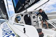 French skipper Clarisse Cremer has a fighting chance of becoming the first woman to win the Vendee Globe in her boat Banque Populaire