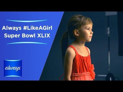 """<p>The period products company made an advert for the 2015 Super Bowl reinforcing the harm of gender stereotypes and sexism. Flipping the concept of the insult 'like a girl', the company asked young girls what doing things 'like a girl' really looks like, winning praise over its messaging in the process.</p><p><a href=""""https://www.youtube.com/watch?v=yIxA3o84syY"""" rel=""""nofollow noopener"""" target=""""_blank"""" data-ylk=""""slk:See the original post on Youtube"""" class=""""link rapid-noclick-resp"""">See the original post on Youtube</a></p>"""