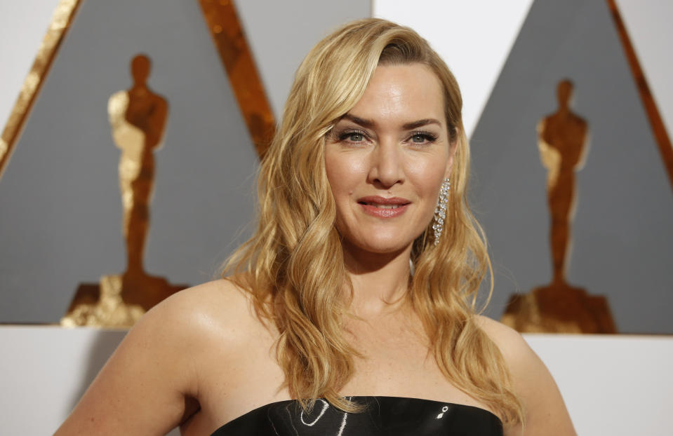 Kate Winslet, nominated for Best Supporting Actress for her role in