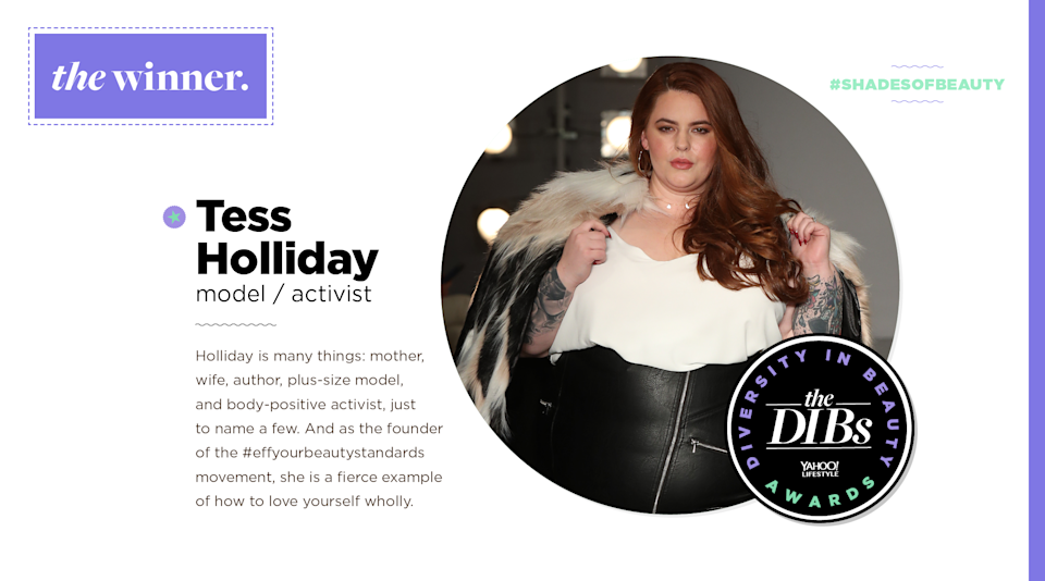 <p>Holliday is many things: mother, wife, author, plus-size model, and body-positive activist, just to name a few. And as the founder of the #effyourbeautystandards movement, she is a fierce example of how to love yourself wholly. (Art by Quinn Lemmers for Yahoo Lifestyle) </p>