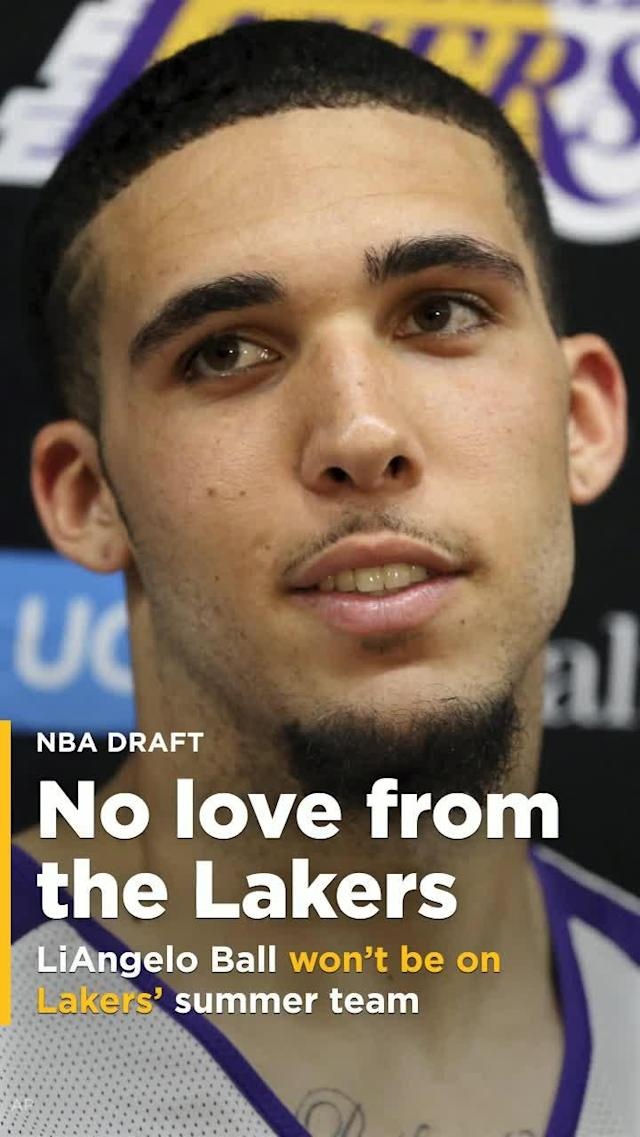 The hopes of LiAngelo getting a shot with his hometown NBA team, via a run in the summer league, were dashed Thursday, courtesy of a report from ESPN's Ramona Shelburne.