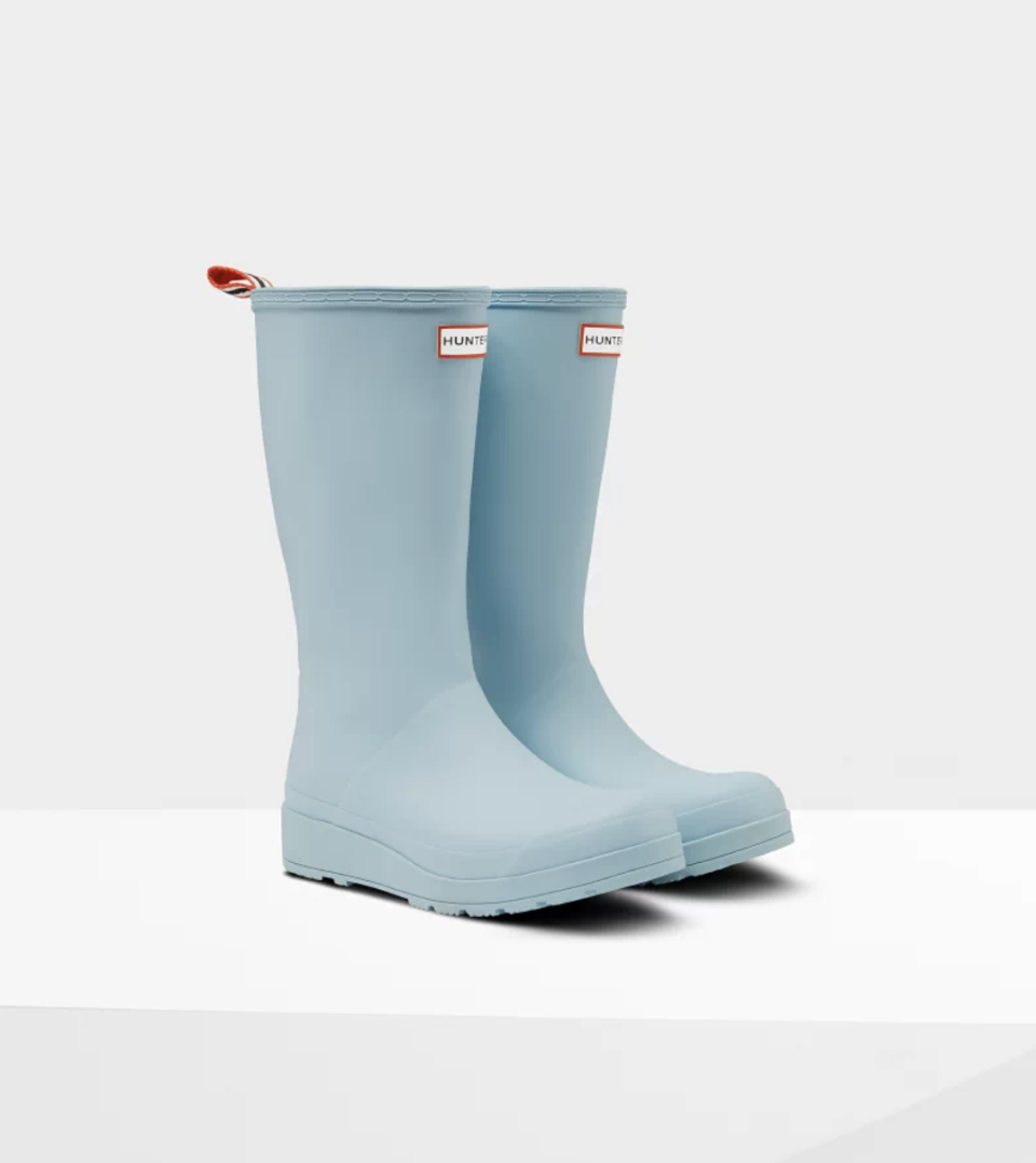 hunter boots Play Tall Rain Boots in Blue