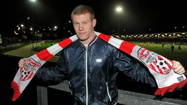 The 27-year-old says that he would like to close out his playing career at his hometown club in the League of Ireland