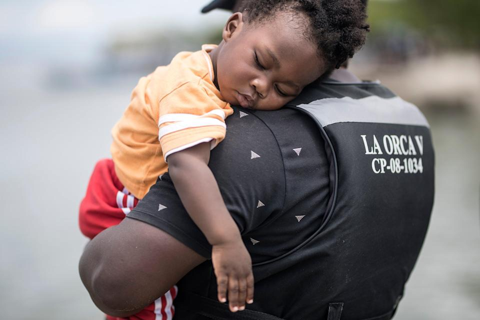 APTOPIX Colombia Migrants (Copyright 2021 The Associated Press. All rights reserved.)