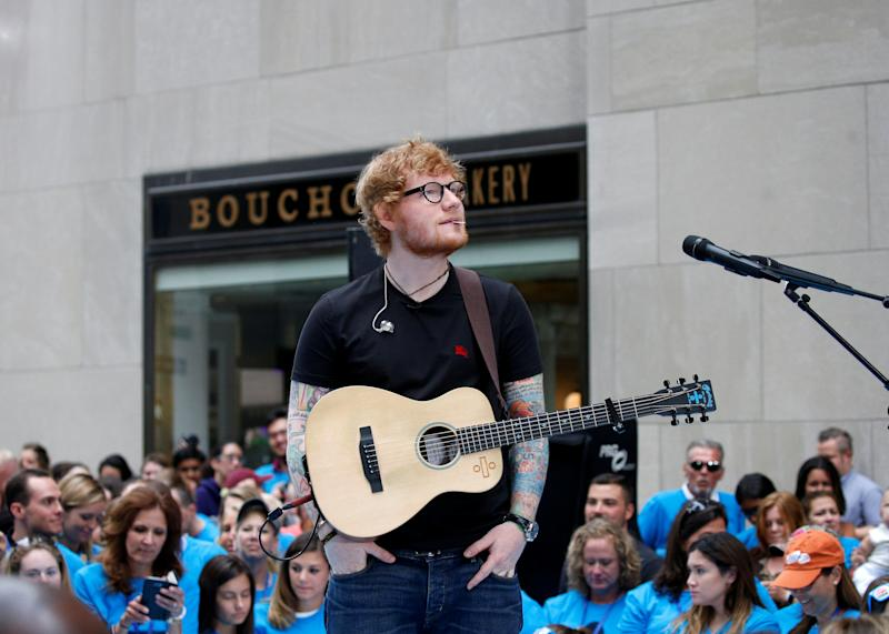 Ed Sheeran has a new doppelganger. (REUTERS/Brendan McDermid)