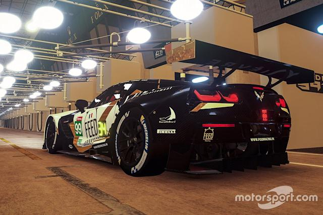"#99 Feed Racing Corvette C7.R: Simon Pilate, Theo Pourchaire, Axel Petit, Alexandre Vromant <span class=""copyright"">Xynamic </span>"