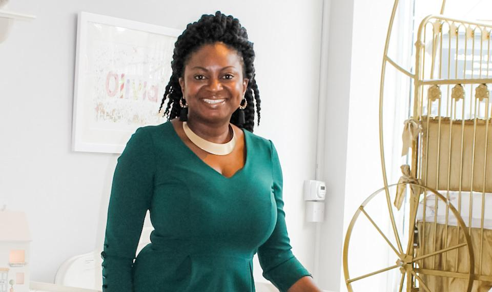 Toks Aruoture, the owner and founder of The Baby Cot Shop. Photo: The Baby Cot Shop