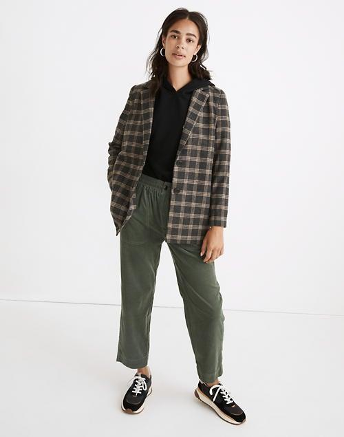 """<br><br><strong>Madewell</strong> Dorset Blazer in Windowpane, $, available at <a href=""""https://go.skimresources.com/?id=30283X879131&url=https%3A%2F%2Fwww.madewell.com%2Fdorset-blazer-in-windowpane-NB249.html"""" rel=""""nofollow noopener"""" target=""""_blank"""" data-ylk=""""slk:Madewell"""" class=""""link rapid-noclick-resp"""">Madewell</a>"""