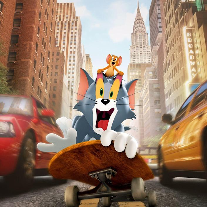 """<p><strong>Release Date:</strong> February 26</p><p>Tom the tomcat and Jerry the mouse have been chasing each other around for decades, and they're still having crazy adventures. This time, Tom is hired to chase Jerry out of a fancy New York City hotel before an A-list wedding. Chloë Grace Moretz co-stars as the hotel's interim wedding planner. <em>Tom & Jerry</em> hits theaters and HBO Max at the same time on February 26, but it'll only be available on HBO Max for 31 days.<br></p><p><a class=""""link rapid-noclick-resp"""" href=""""https://go.redirectingat.com?id=74968X1596630&url=https%3A%2F%2Fwww.hbomax.com%2Ftom-and-jerry&sref=https%3A%2F%2Fwww.goodhousekeeping.com%2Flife%2Fentertainment%2Fg34838622%2Fbest-kids-movies-2021%2F"""" rel=""""nofollow noopener"""" target=""""_blank"""" data-ylk=""""slk:WATCH NOW"""">WATCH NOW</a><br></p>"""