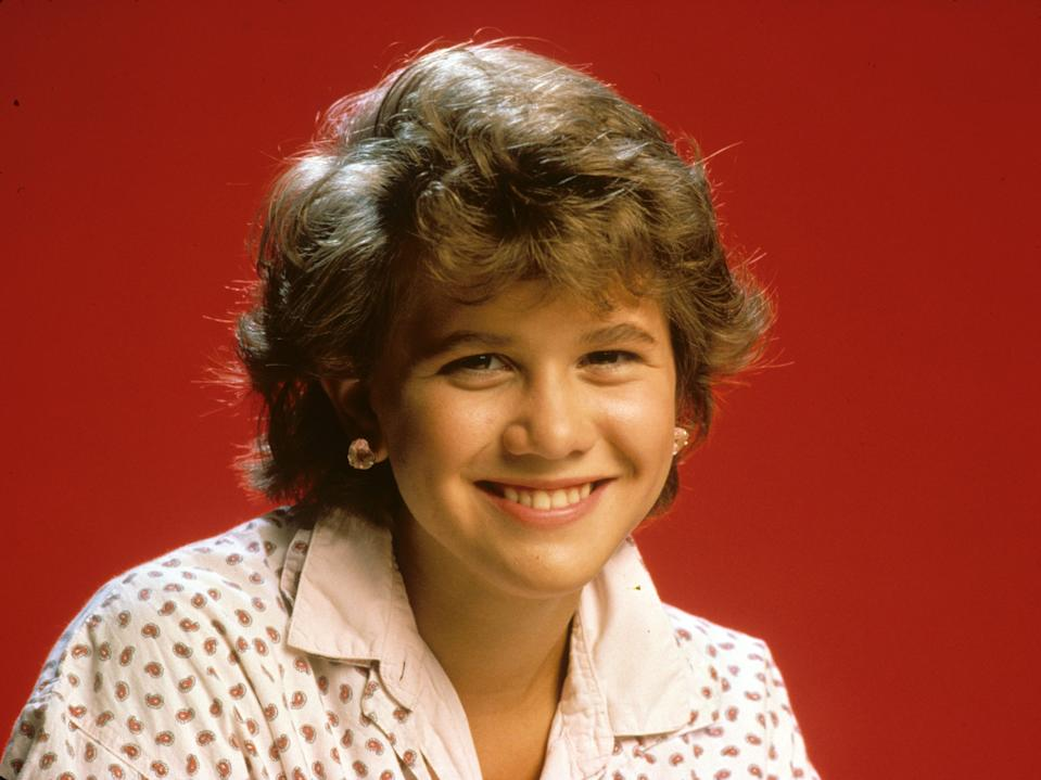 Tracey Gold in 1985.