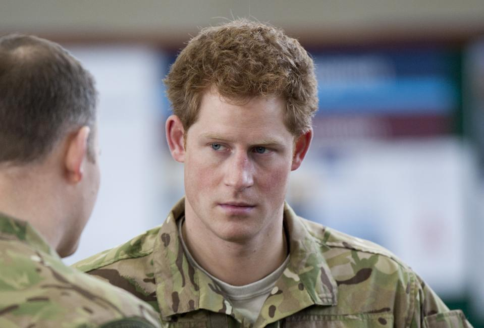 Prince Harry, As Honorary Air Commandant, Visits Royal Air Force Honington Where He Met Raf Personnel And Inspected Some Military Hardware.