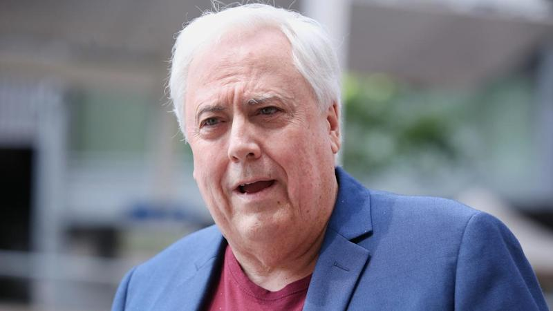Clive Palmer takes the stand again