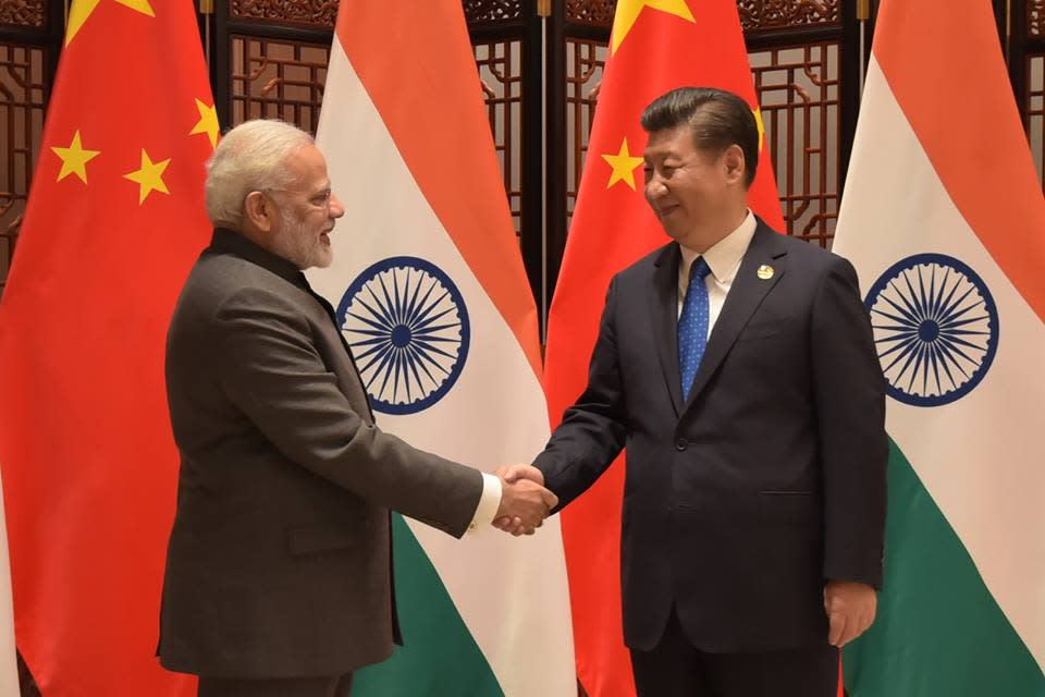 <p>From 3<sup>rd</sup> to 5<sup>th</sup> of September this year the PM visited China and attended the 9<sup>th</sup> BRICS summit. The visit also gave an opportunity to open a discussion on the standing Doklam issue with the Chinese President Xi Jinping. As reported, it was a bilateral talk, a forward looking conversation without mentioning the D-word. </p>