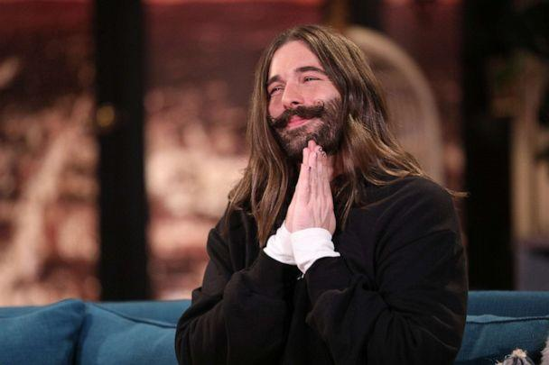 PHOTO: Jonathan Van Ness appears on the set of NBC's 'Busy Tonight,' episode 1042. (NBCUniversal via Getty Images, FILE)