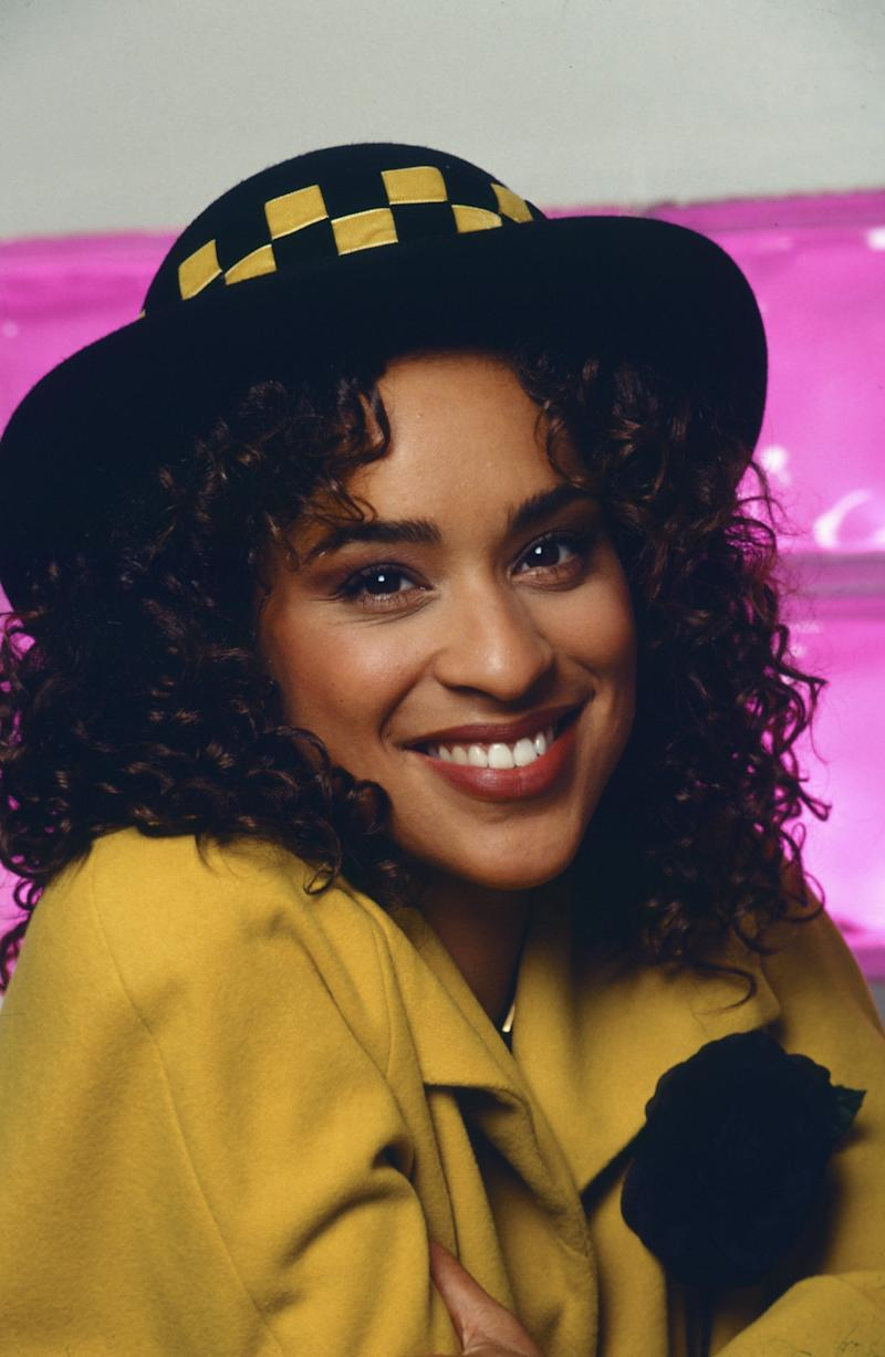(NBC via Getty Images (THE FRESH PRINCE OF BEL-AIR -- Season 3 -- Pictured: Karyn Parsons as Hilary Banks -- Photo by: Chris Haston/NBCU Photo Bank))