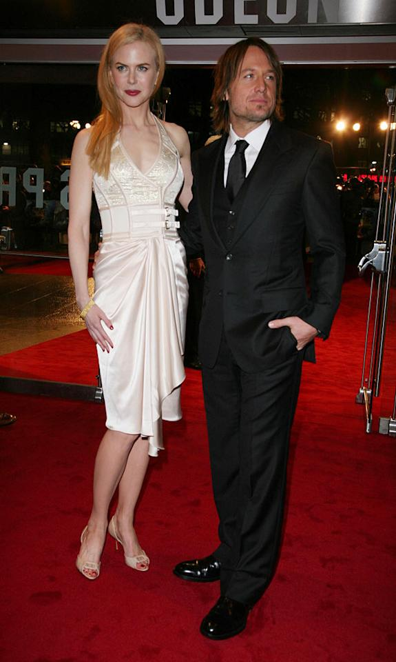 "Nicole Kidman and Keith Urban at ""The Golden Compass"" world premiere at the Odeon Leicester Square in London, England. Davidson/<a href=""http://www.infdaily.com"" target=""new"">INFDaily.com</a> - November 27, 2007"