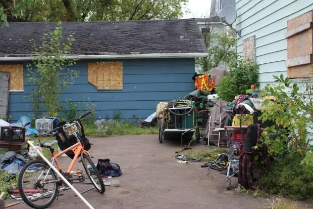 Moncton has been dealing with a growing number of homeless people and shortage of affordable housing for several years.  (Vanessa Blanch/CBC - image credit)