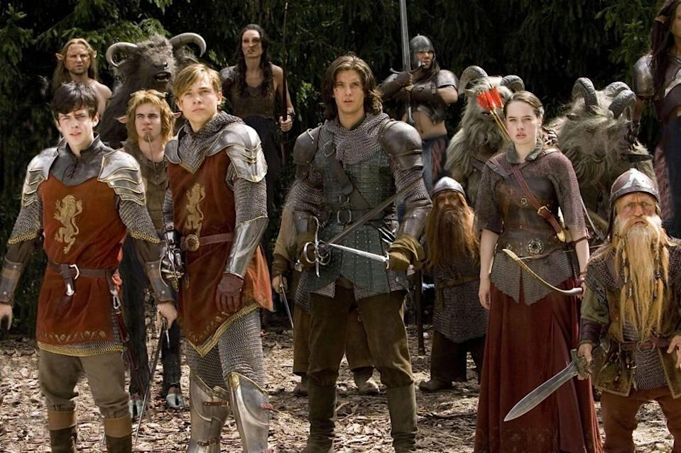 """""""Prince Caspian"""" grossed more than $300 million less than """"The Lion, the Witch, and the Wardrobe."""""""