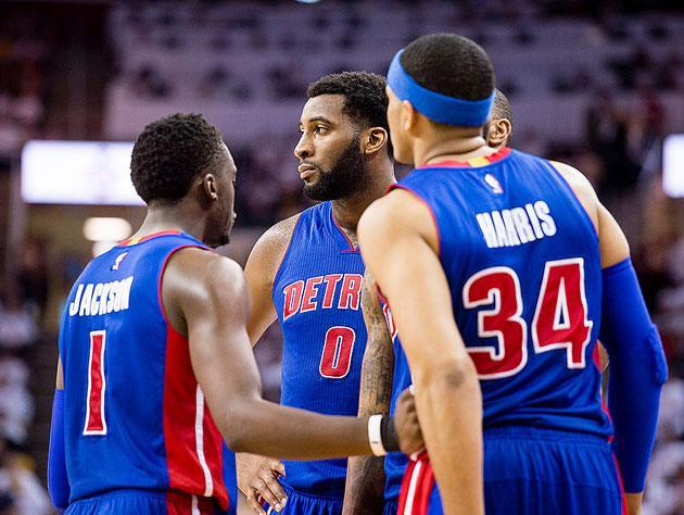 Andre Drummond and cast. (Getty Images)