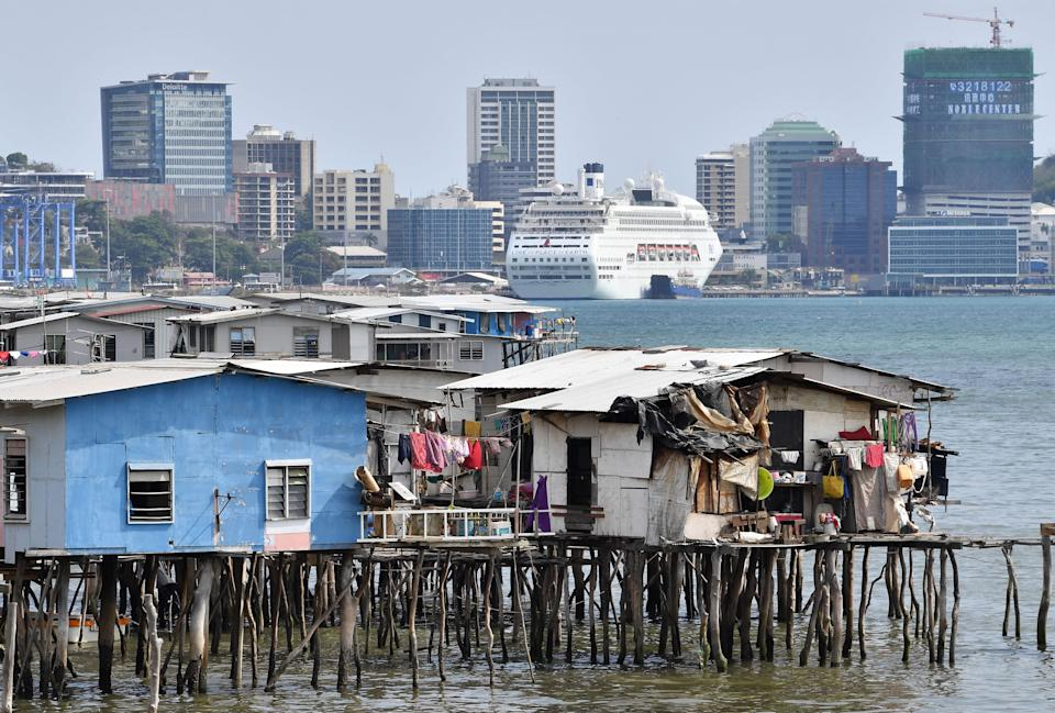 Port Moresby's, PNG's capital is seeing more Covid cases.