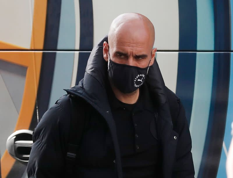 Champions League - Manchester City arrive at their hotel ahead of the Champions League Final