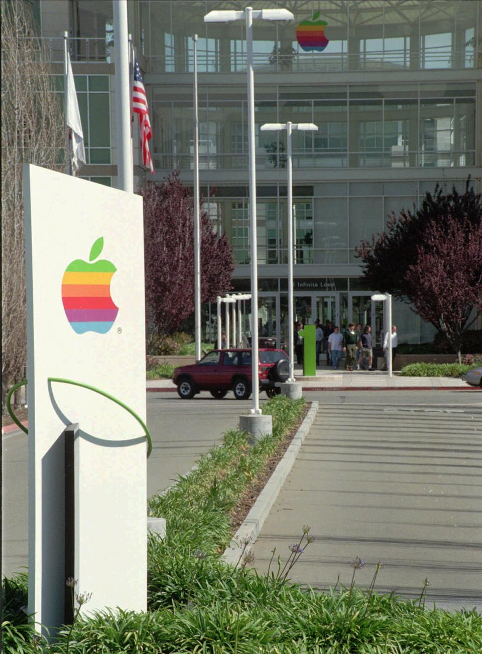 Logo na sede da Apple. (Foto: AP Photo/Steve Castillo)
