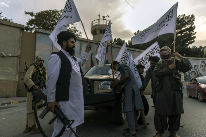 The rapid takeover of Afghanistan by the Taliban derailed the CIA's plans to refocus on gathering intelligence about global rivals, rather than on counterterrorism. (Victor J. Blue/The New York Times)