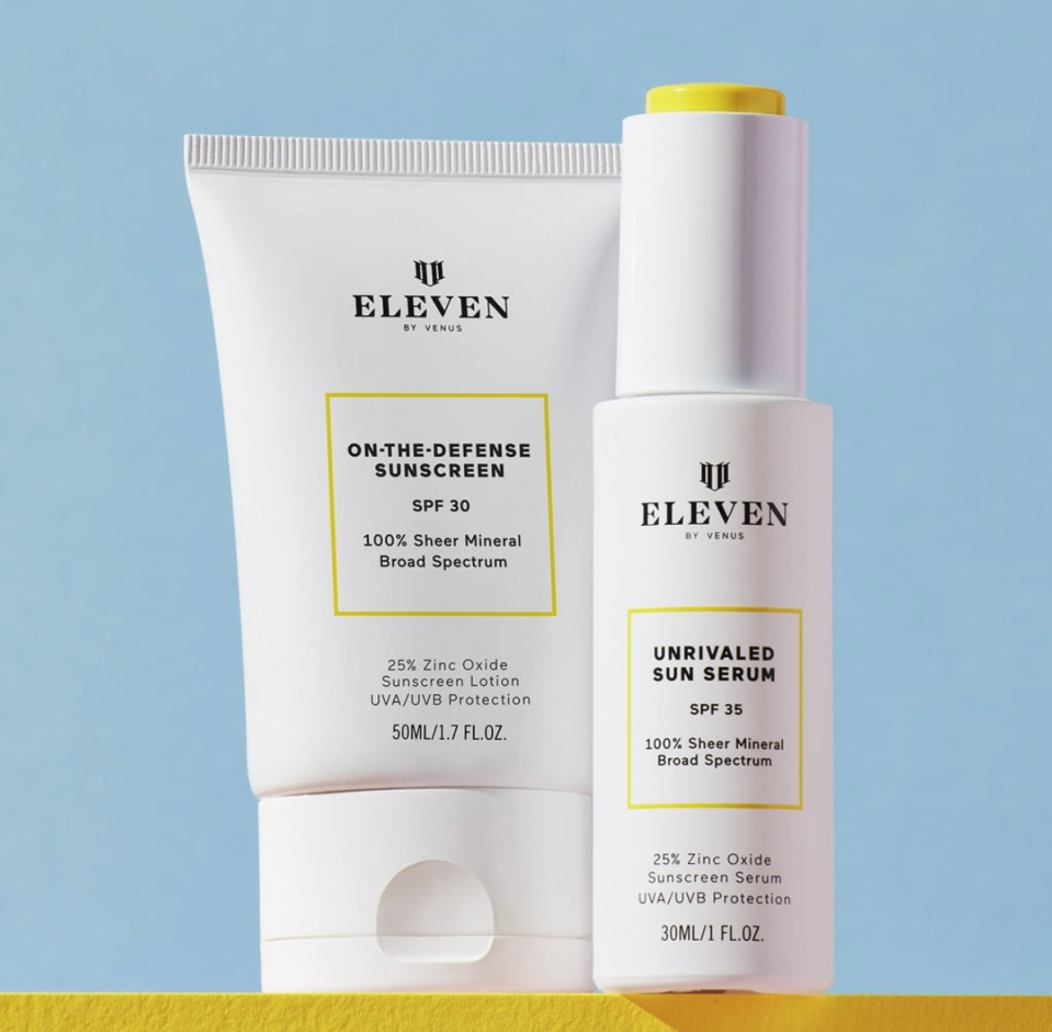 EleVen sun care products by Venus Williams