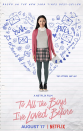 "<p>Lara Jean writes love letters to the boys she has crushes on, but she has no intention of ever mailing them. However, they find their way around her school, causing all kinds of hijinks.</p><p><a class=""link rapid-noclick-resp"" href=""https://www.netflix.com/search?q=to+all+the&jbv=80203147"" rel=""nofollow noopener"" target=""_blank"" data-ylk=""slk:STREAM NOW"">STREAM NOW</a></p>"