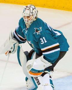 Sasha Yodashkin recommends using Sharks netminder Martin Jones on Wednesday against the visiting Hurricanes.