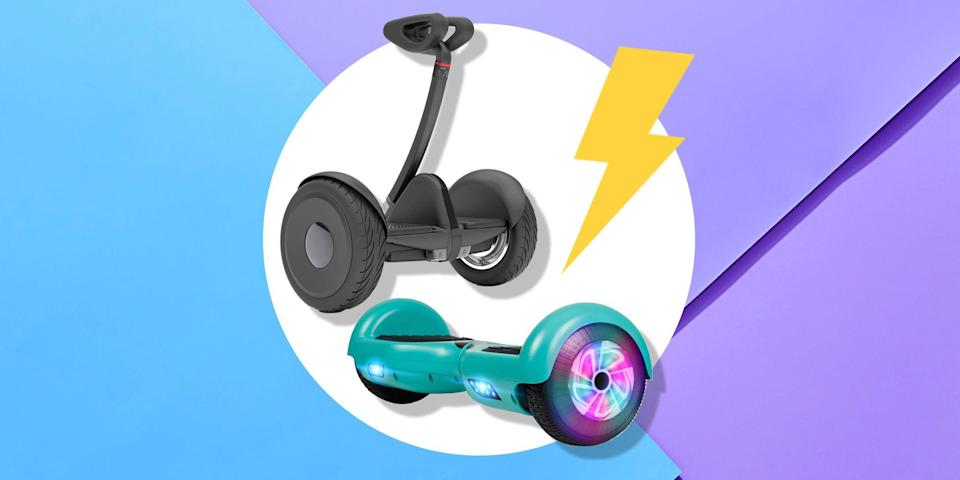 <p>Hoverboards may not be as popular as they were when they first exploded onto the scene, but that doesn't mean they're any less fun and functional. In fact, there's probably never been a better time to buy one, since hoverboards are now more affordable than ever before. </p><p>Whether you're looking for a new hobby or a way to cover quick distances in a short amount of time, hoverboards can give you the smooth ride of a skateboard without actually needing any of the skill. Most hoverboards just require you to be capable of keeping your balance (which, yes, is easier said than done). </p><p>A couple of things you should consider before buying a new hoverboard: how long you want to be able to ride it before it needs to recharge, how many miles per hour it can handle, and whether you'd like any extra functions like LED lights for riding at night or a built-in speaker. </p><p>Various factors can play into this, including whether you plan to use your hoverboard for your daily commute or if you're more likely to zoom up and down your driveway with your kids.</p><p>If you're ready to start riding, here's a list of the best hoverboards of 2020 for every type of need, according to user reviews. </p>
