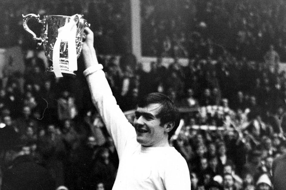 Terry Cooper's goal against Arsenal at Wembley sealed the 1968 League Cup for Leeds United (TALKING SPORT/Photoshot / Avalon)