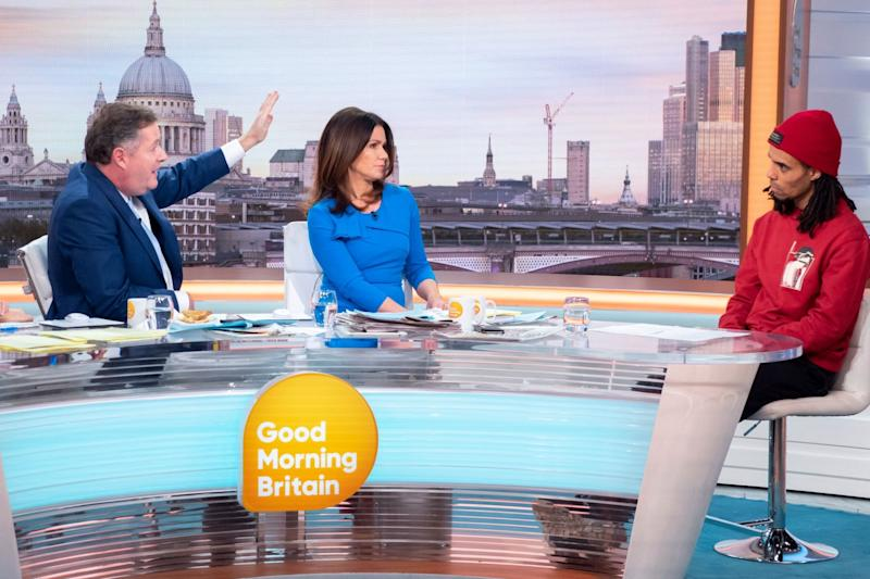 Akala on Good Morning Britain (Rex Features)